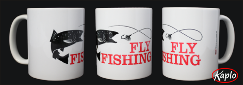 Tasse Fly Fishing Motiv Fisch